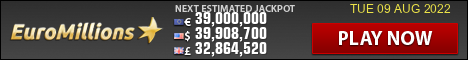 EuroMillions current jackpot image