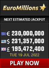 Play EuroMillions lottery - win up to 183 million Euro