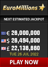 Buy EuroMillions lottery tickets online