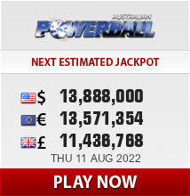 Play OzPowerball lottery