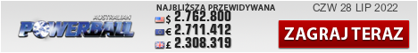 Oz Powerball, australijski powerball, australijskie lotto