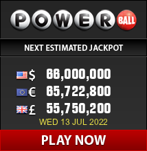 Play the US Powerball Lottery now