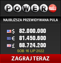 USA Powerball loterii